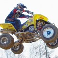 Doug Gust hit a Grand Slam at Blountville! Gust won ever single moto he raced!