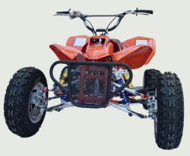 xtreme typhoon 125cc high performance youth quad atv scene magazine rh atvscene com