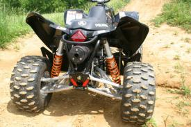 Polaris Outlaw 525 >> Polaris Outlaw 525 Long Term Ride Test Atv Scene Magazine