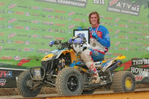 Canadian Can-Am X-Team member Mathieu Deroy competed in both the Pro-Am and Open A classes, winning the latter at Red Bud with a 2-1 moto score.