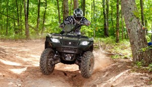 2016 Suzuki KingQuad Review