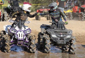 Renegade 4x4 pilot Jace Cheramie (Team Performance Powersports / Can-Am) and Outlander ATV racer Robert Parker (Team Momentum Racing / Can-Am) were friendly rivals all season. Parker won two CMR titles and Cheramie took second in the Pro B ranks.