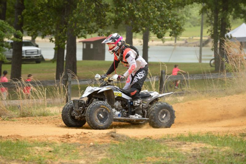 Kiger had a tough day but still salvaged 7th place in the class