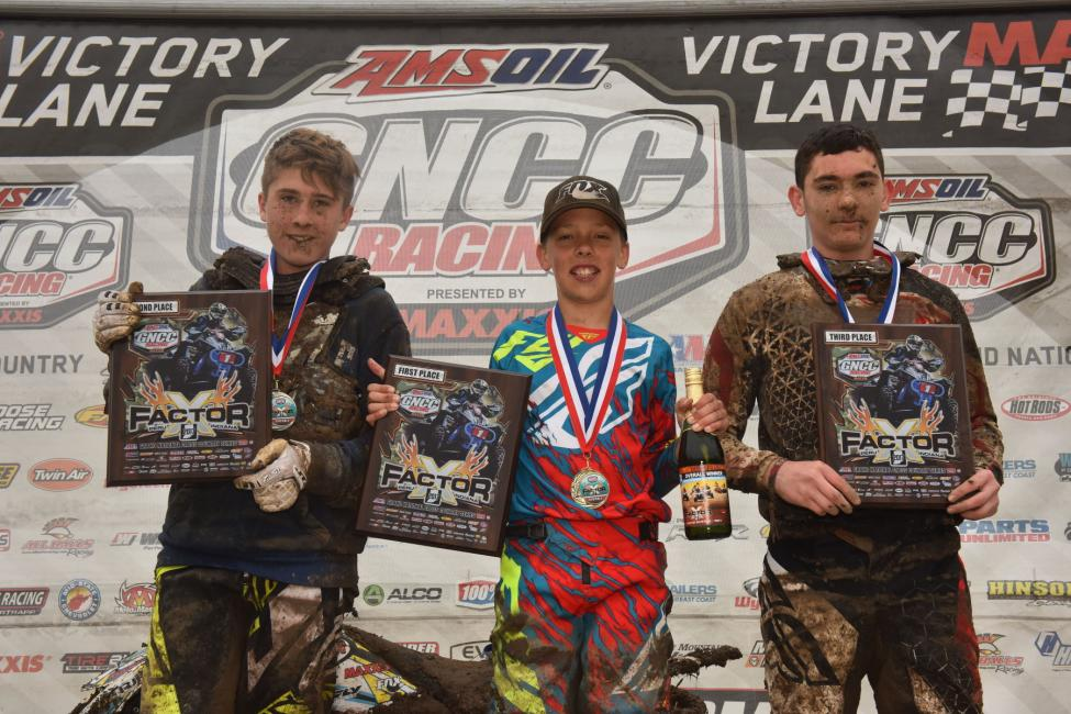 Layne McCormick earned his third overall win, followed by Colton Buck and Payton Dalton.