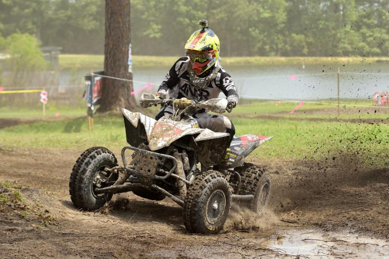Neal powered through the tough conditions in South Carolina