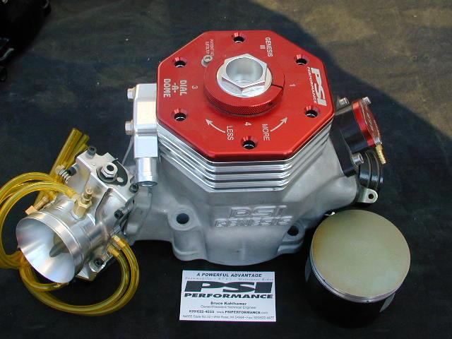 Psi 2 stroke engine