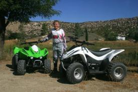 2007 Kawasaki KFX 50 and 90 – ATV Scene Magazine