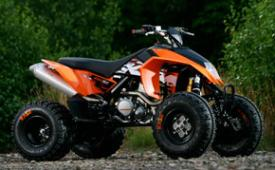 We Ride KTM's First ATV – ATV Scene Magazine