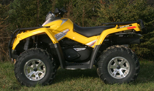 2008 Can Am Outlander 800xt 4 4 Atv Scene Magazine