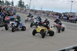 Fowler (2), Borich (1), McClure (10), Richardson (15) and McGill (521) made up the first row of the start at Snowshoe