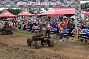 Adam McGill captured his first win of the season in his home state of West Virginia