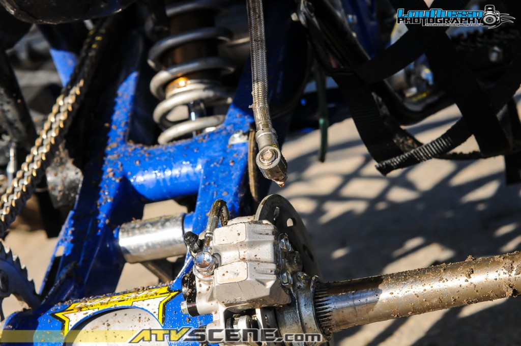 Unfortunately this shock reservoir mishap meant Walsh-Zilla's would not finish it's first race.
