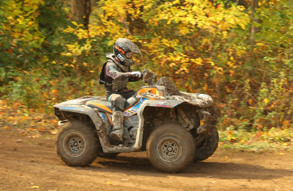 Cody Miller, who won four ATV events in 2016, finished the year with three consecutive victories on his Can-Am Outlander ATV to end up third overall in the 4x4 Pro class points race.