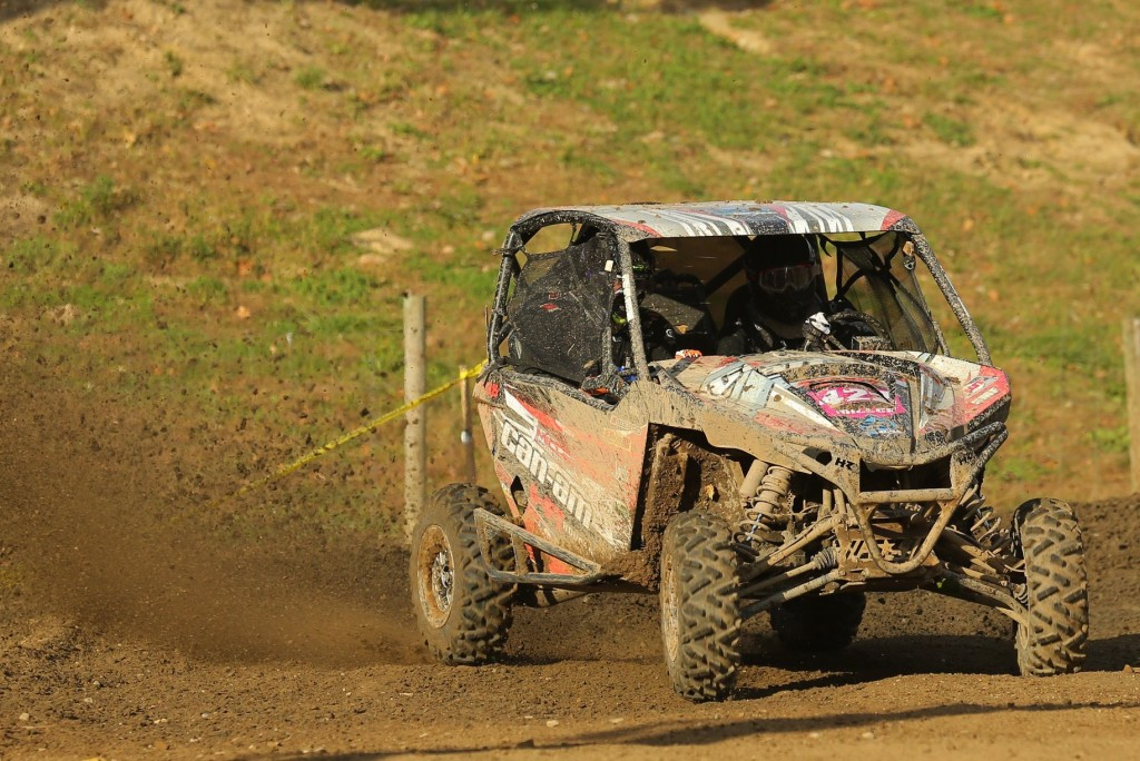 Cody Miller won three races and made the podium at all six events with his Can-Am Maverick 1000R side-by-side vehicle on his way to capturing the 2016 GNCC XC1 Pro UTV championship.
