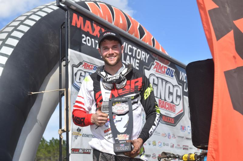 Neal earned his second straight podium finish at the second round. Photo: Ken Hill