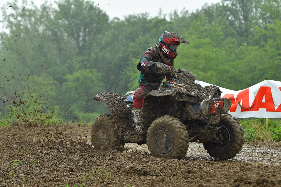 Kevin Cunningham earned another win in the 4x4 Pro class in the muddy conditions in his home state of Indiana.