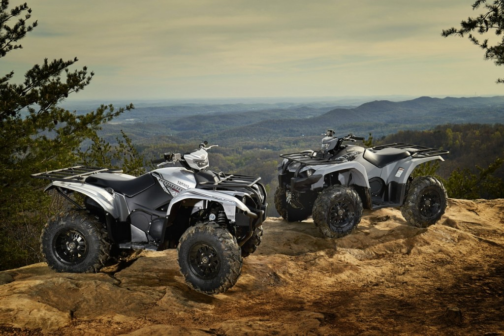 2018 Yamaha Kodiak 450 EPS in Armor Gray